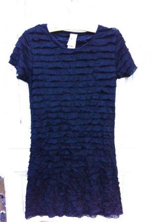 146-os C&A fekete elegáns ruha