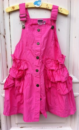 110-es Kiddy Girl fodros ruha