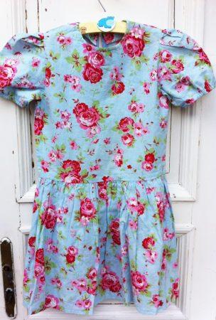 134/140-es Flowers ruha