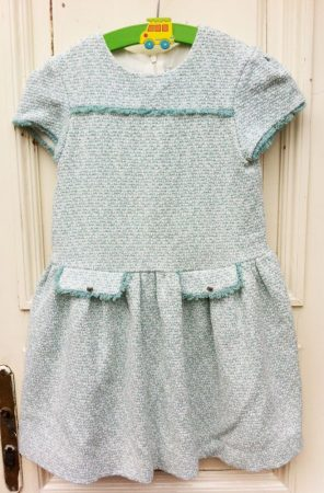 134-es Myrl Department spanyol elegáns ruha