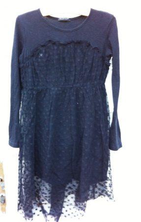 128/134-es Sisley ruha tüllel