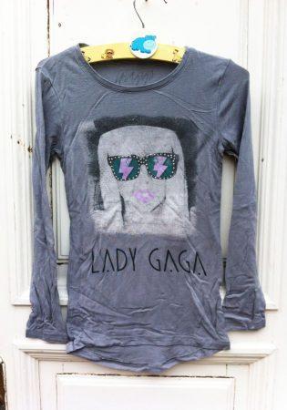 134/140-es Lady Gaga felső