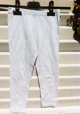 110/116-os white leggings