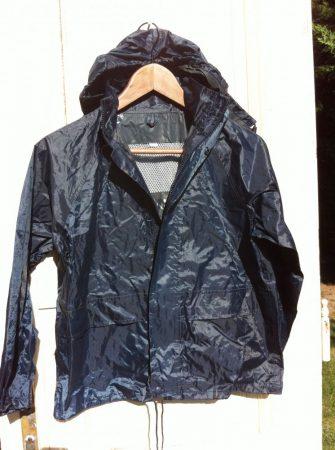 128/134-es KÉK fiú eső/átmeneti kabát