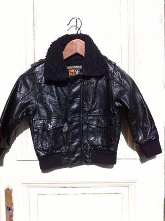 104-es FRENDZ műbőr, szőrme béléses kabát
