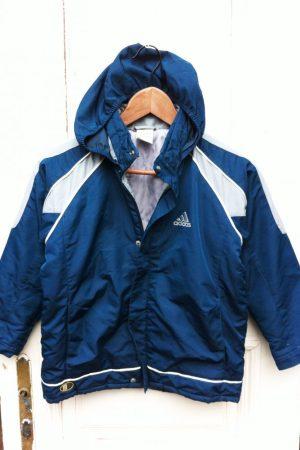 128/134-es Adidas, bélelt téli kabát