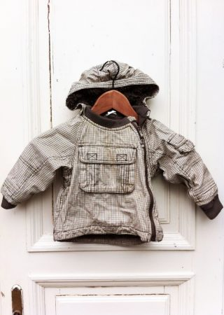 74-es H&M, vastag téli kabát