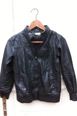 146-os H&M bélelt műbőr kabát