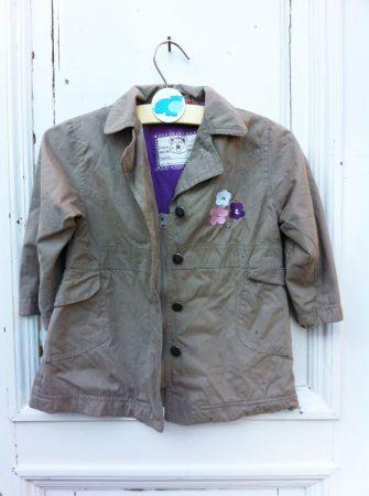 92-es Topolino bélelt, átmeneti kabát