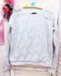 146-os Bizzy csipkés pulóver