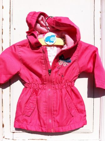68-as Flower átmeneti kabát, polár béléssel
