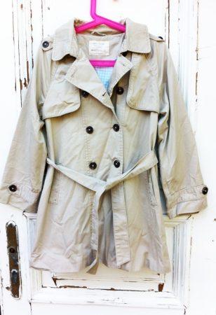 128-as, ZARA, vékony béléses, átmeneti kabát, hosszított fazon