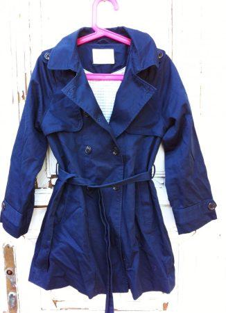 128-as Zara átmeneti kabát, vékony béléssel, hosszított fazon
