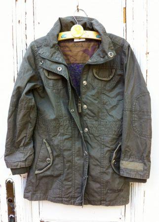 128-as Yigga, átmenti kabát, vékony béléssel, hosszított fazon
