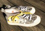 28-as H&M Minions magas szárú vászoncipő