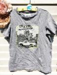 152-es Alive Travel szürke póló