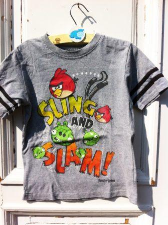 116/122-es Angry Birds felső