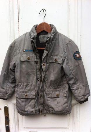 110-es DOPO DOPO boys, vastag polár béléses téli kabát