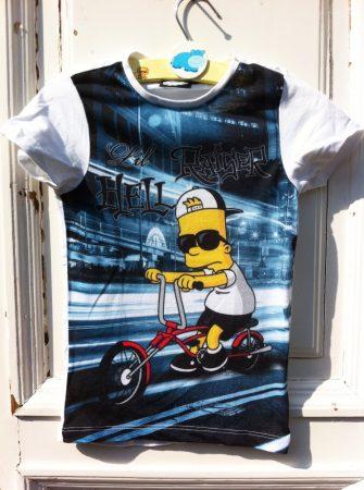 122/128-as The Simpsons felső