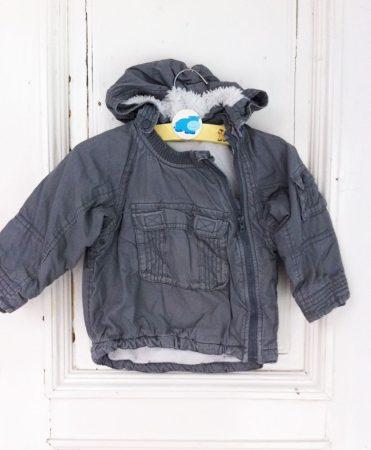 12/18-hó, H&M bunda béléses, vastag kabát