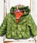 86-os,C&A, vastag polár béléses téli kabát