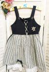 1116-os Girls ruha, fodros, madeirás alj résszel