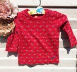 86-os Esprit virágmintás hosszú ujjú póló