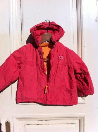 92-es TOPOLINO vastag, bélelt téli kabát