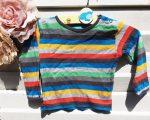 74-es Hema színes csíkos hosszú ujjú póló