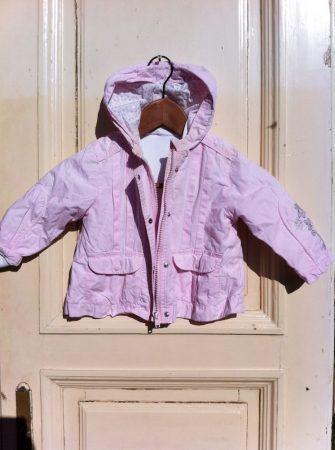 86-os C&A bélelt, vastag, téli kabát
