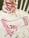 3-4 éves kislánynak való Hello Kitty csillámos rózsaszín öv