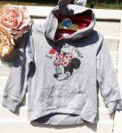 116-os Disney Minnie Mouse kapucnis pulóver, ÚJSZERŰ