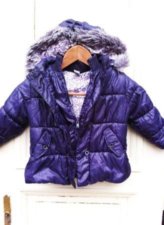 92-es C&A bélelt kabát