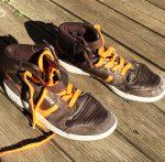 38-as Fila bőr magas szárú sportcipő