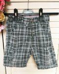 92-es H&M szürke kockás rövidnadrág