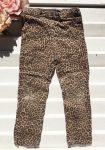 92/98-as Kiki & Koko leopárdmintás sztreccsnadrág