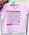 104-es  mintás póló, Alma együttes