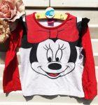 116-os Disney Minnie Mouse hosszú ujjú póló
