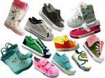 Lány, fiú cipők